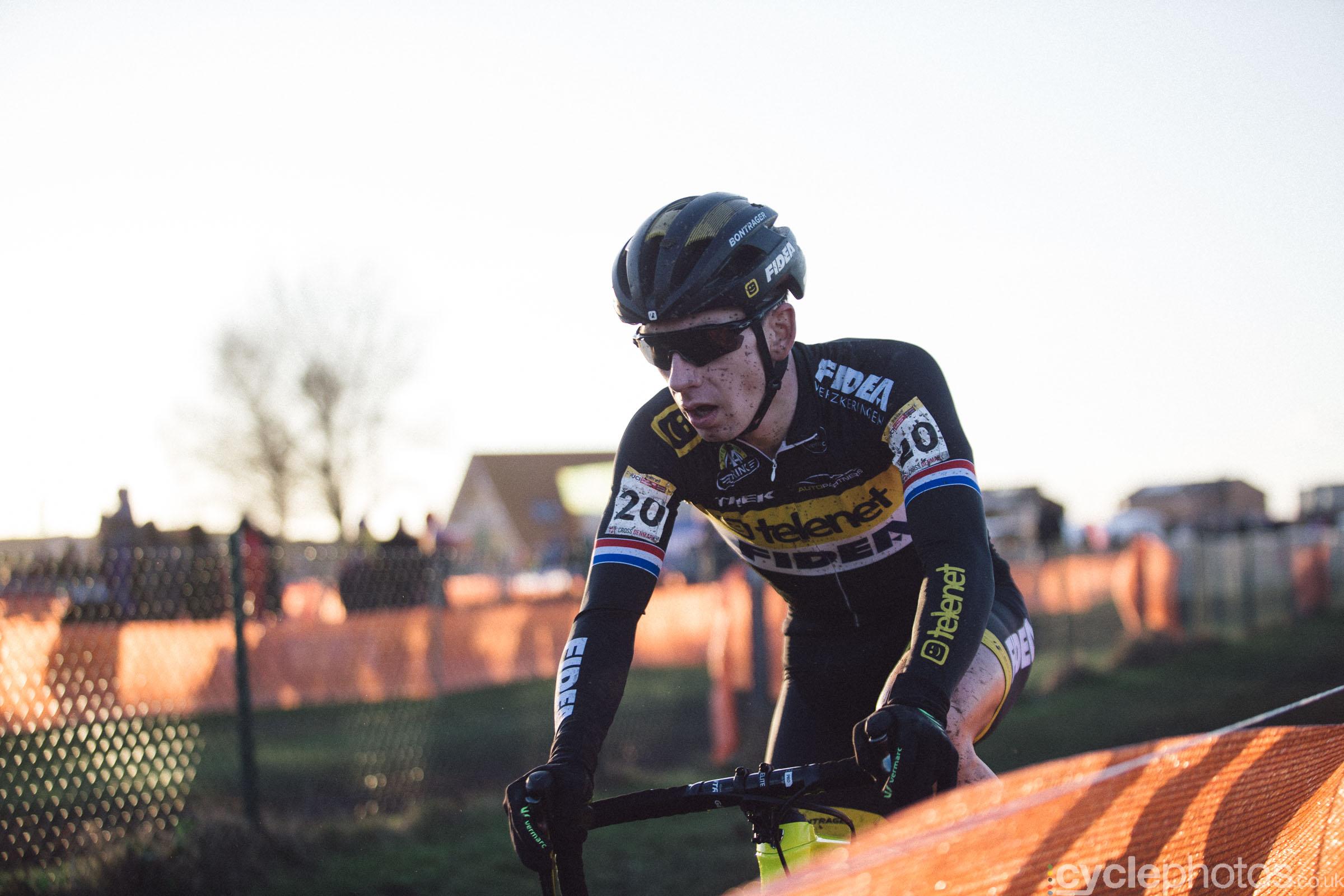 Lars van der Haar at UCI Cyclocross World Cup #4 - Bogense, DEN