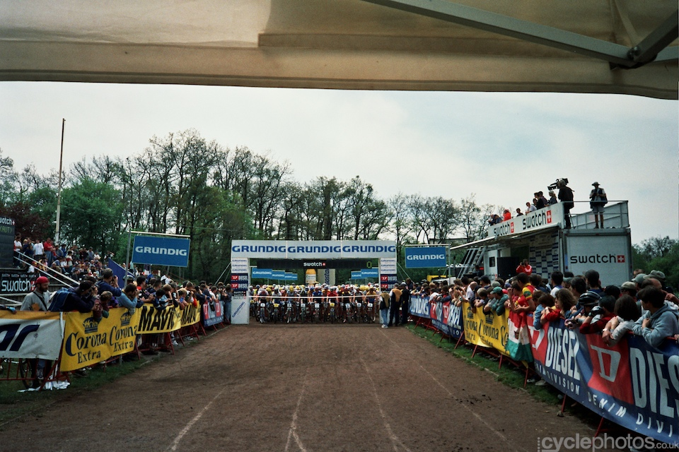 Seconds before the start