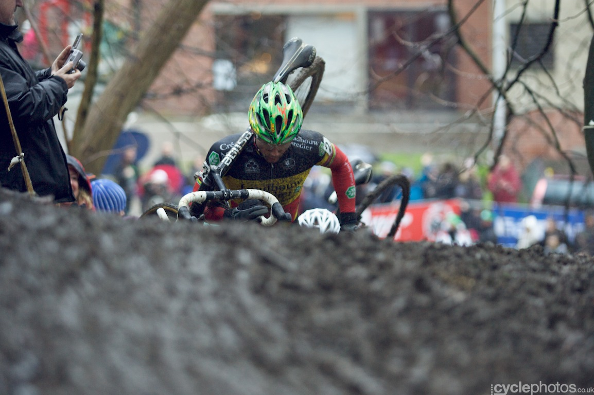 Sven Nys was once again the force to be reckoned with and he dominated the entire race
