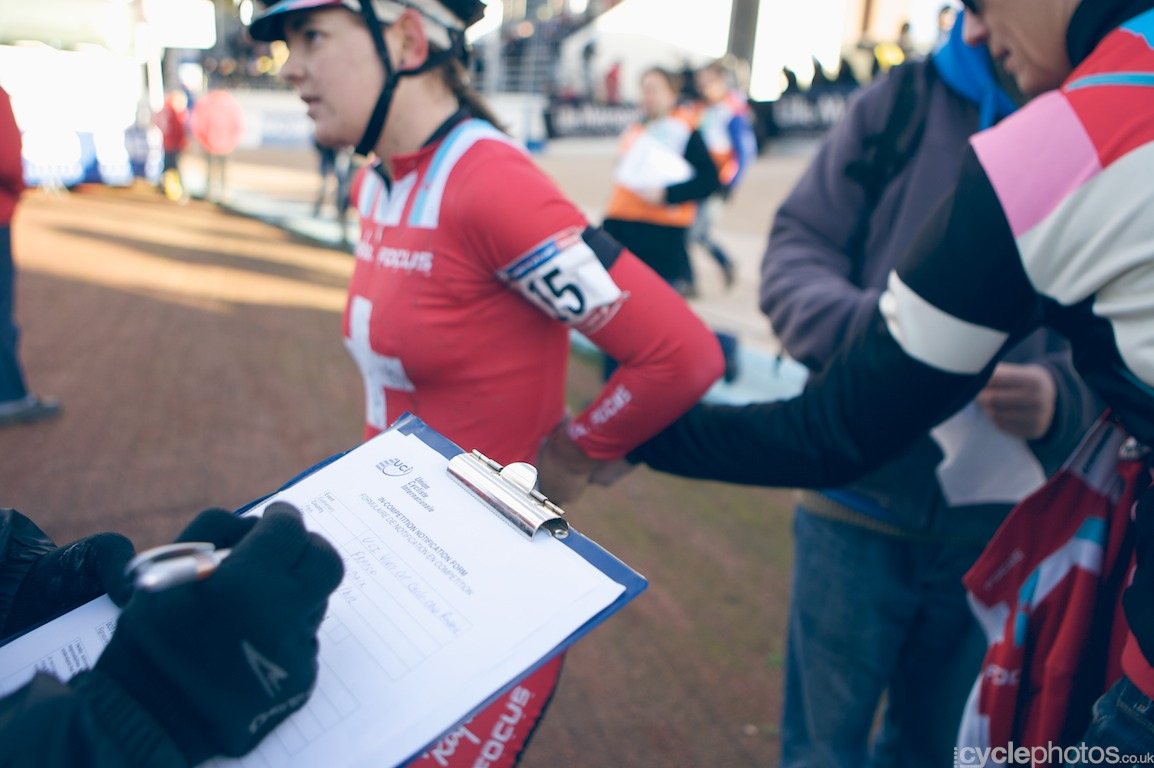 Jasmin Achermann and the doping control chaperone