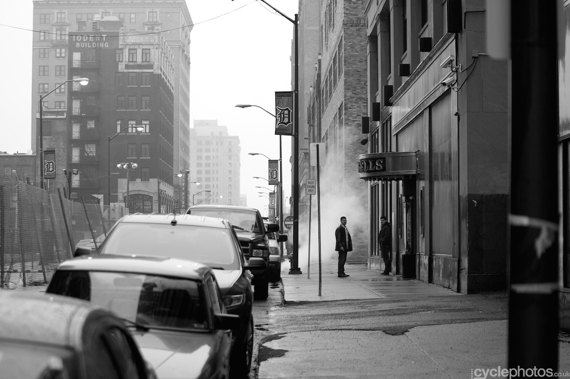 Detroit downtown. Photo by Balint Hamvas / Cyclephotos