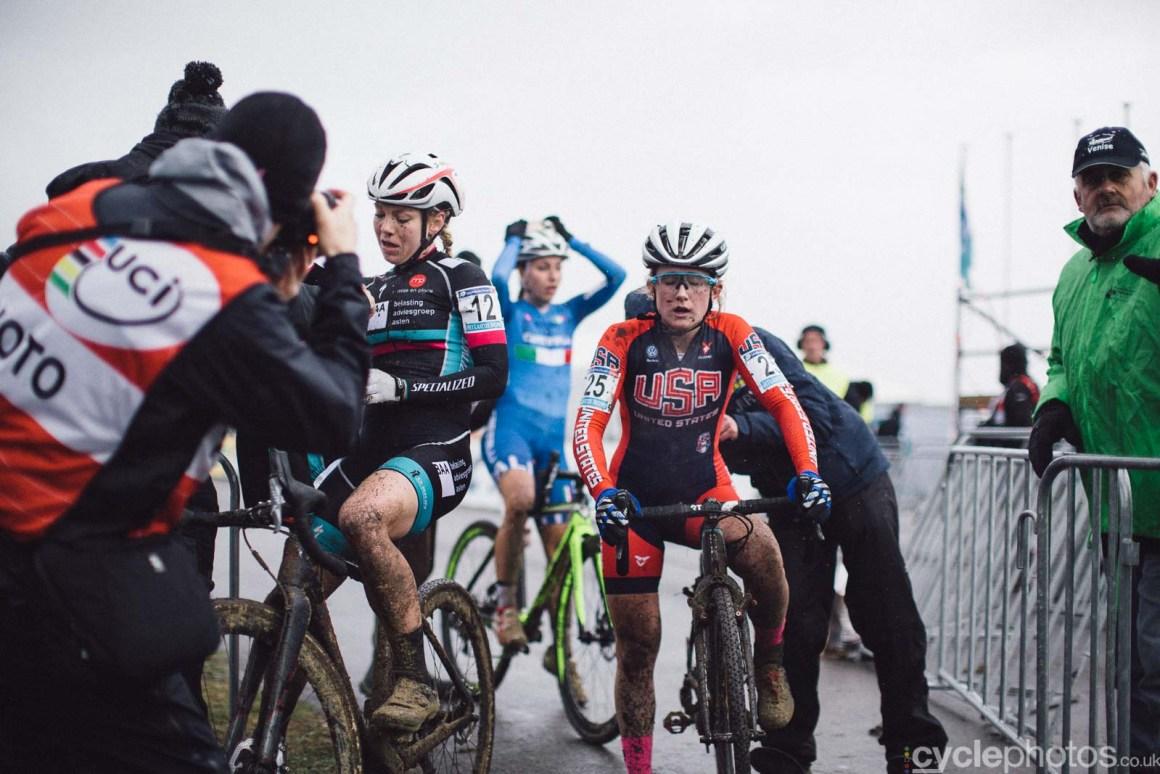 2015 Cyclocross World Cup Koksijde cyclocross photos, Ellen Noble