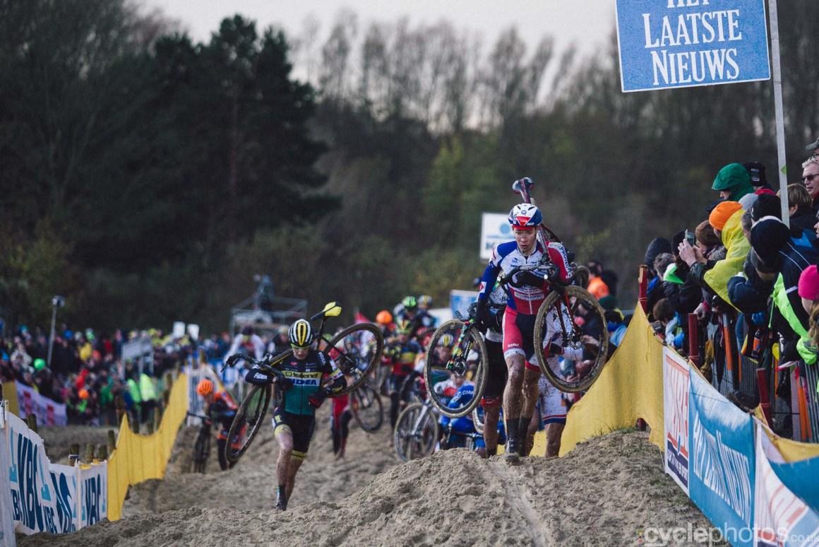 2015 Cyclocross World Cup Koksijde cyclocross photos, Laurens Sweeck