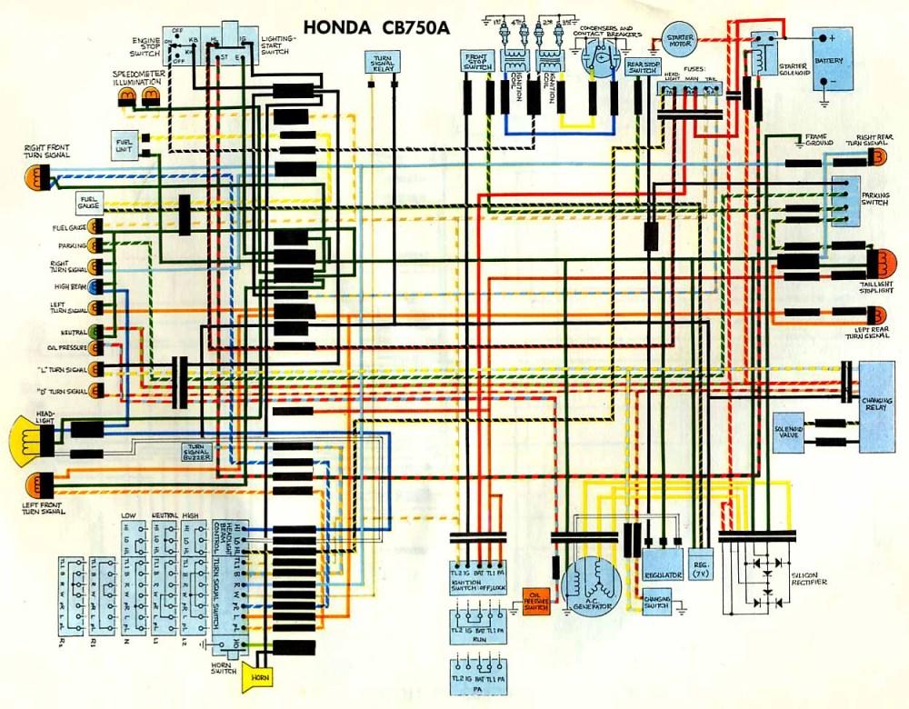 medium resolution of  hondamatic cb750a wiring diagram eurozone wiring diagram yamaha xt500