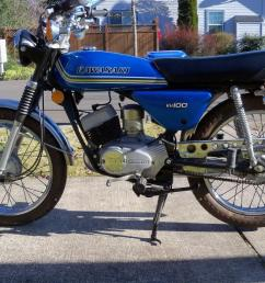 1976 kawasaki kh100 [ 1024 x 768 Pixel ]