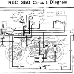 Yamaha Rd 350 Wiring Diagram Diagrams 1998 Volvo V70 Engine Rd350 R5c Evan Fell Motorcycle Works