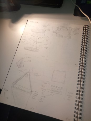 Conceptualising & sketching