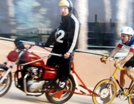 Serge Crottier-Combe, vélo de demi fond fabriqué dans le début des années 1990