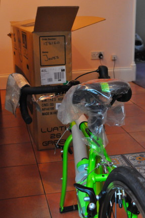 Islabikes Luath Review - well protected for transportation