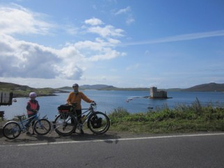 Kisimul Castle in background, Barra