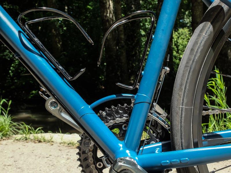 Vélo Taillefer Cycles, Pierre Glottin, Bagagère Rapide, détail poignée de portage
