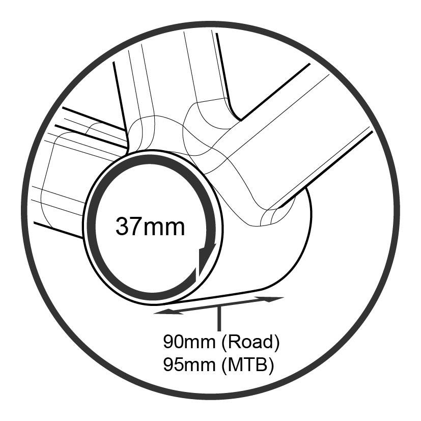 Tripeak BB90/BB95 Bearing Kit (Trek Only)