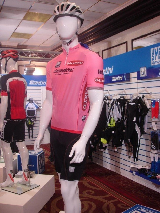 Paul Smith's Maglia Rosa for Santini