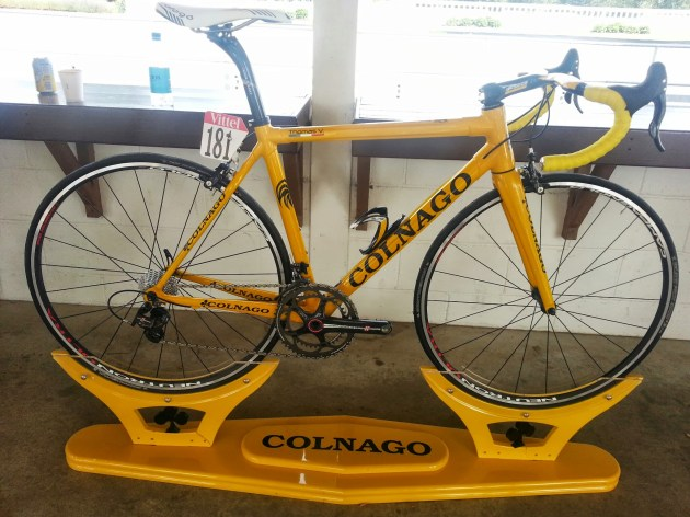 Thomas Vocklers' Colnago C59 from 2012 Tour