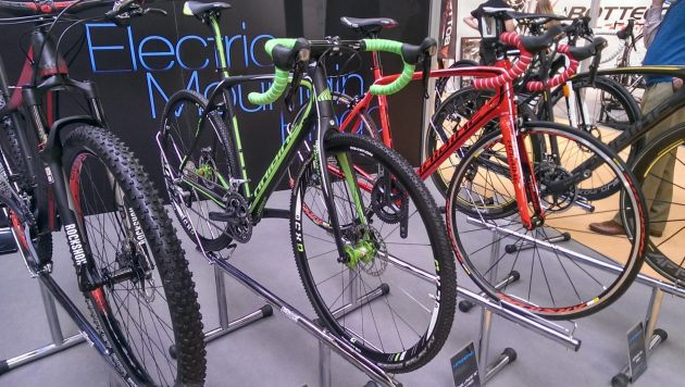 The 2013 NEC Cycle Show, where we first spotted Haibike, this is the Noon RX and is more race orientated than the Noon SL