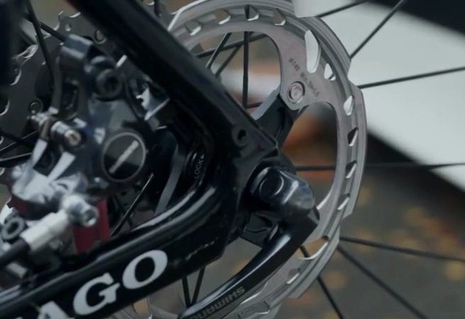Shimano Disc Brakes in Cross
