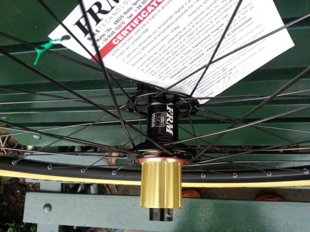 FRM Venus Cross rear hub