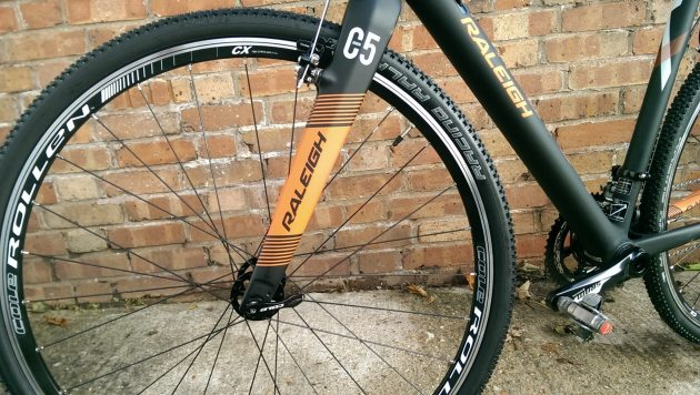 Cole Rollen CX wheels make for a good training wheel.