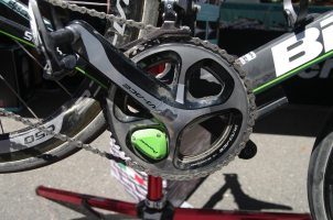 Bianchi uses Pioneer Power - on Vanmarcke's PR bike