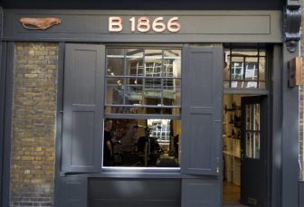 Brooks B1866 shop front