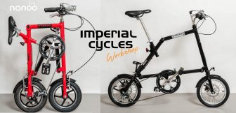 Nanoo is available in the UK from Imperial Cycles
