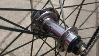American Classic's spokes are very wide in search of aero speed