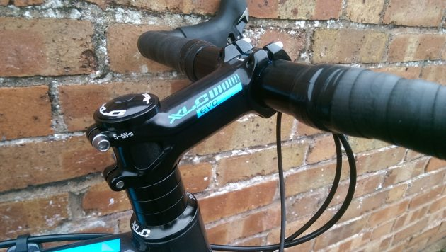 Plenty of spacers and a flippable stem mean there's plenty of room for adjustment