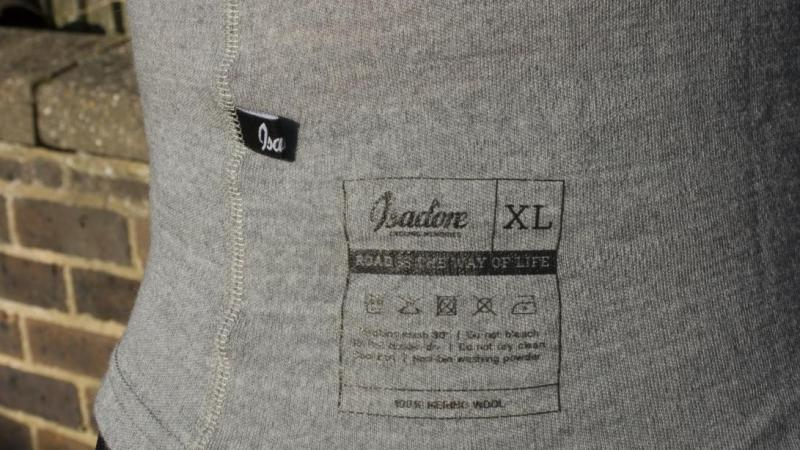 Isadore Merino base layer and jersey