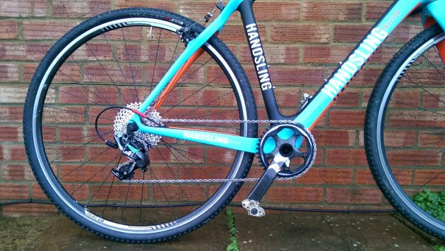 Force CX1 on the bike and ready to roll