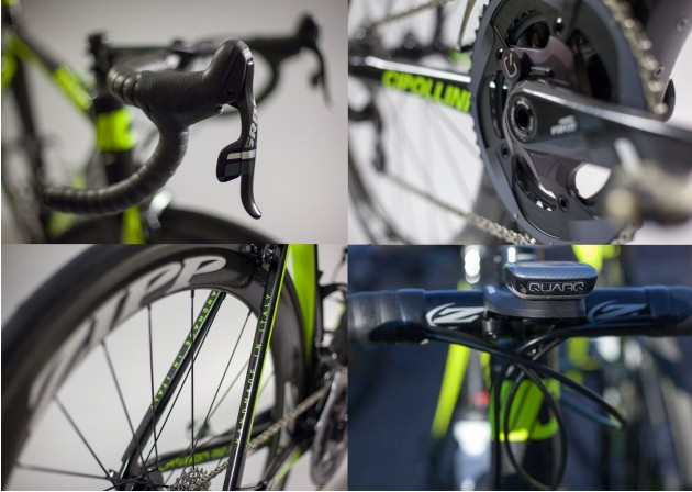 The Axeon Cycling Team will have the pick of SRAM, Zipp and Quarq's top components to help them in the coming season
