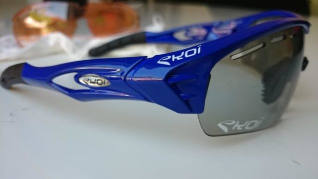 Ekoi Perso Evo 2 sunglasses come with a multitude of lens and colour choices, I wish I had been a bit more adventurous!
