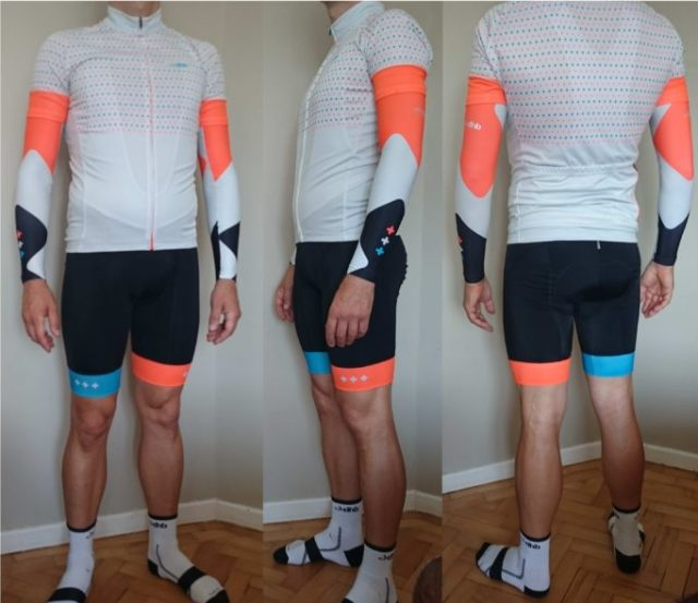 dhbs ss15 blok kit is bright and will get you noticed