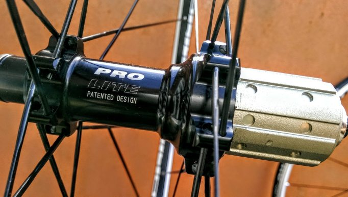 The Pro-Lite Bortola hub is based on the firm's Bracciano hubs and runs on Japanese EZO bearings