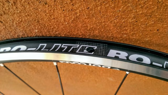 If you are going to run the Bortola's tubeless you'll need to add some rim tape to cover the spoke holes