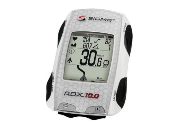 The Rox 10.0 is the first GPS bike computer from Sigma