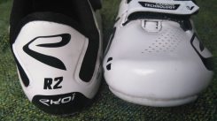 Heels and toes of the R2