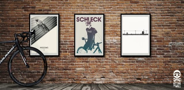 Hitting the Wall prints, stuck for ideas  of what to get for the cyclist in your life?