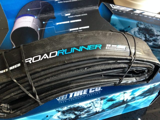 New 120TPI 25c Road Runner tyres from Vee Tire Co.