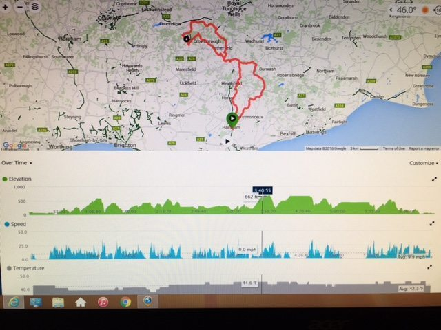 The Hills and Mills Audax doesn't do big hills, instead it throws a barrage of short, steep climbs at you. Image courtesy of Simon Catmur