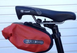 The Ortlieb Medium Saddle Bag will keep everything safe and dry