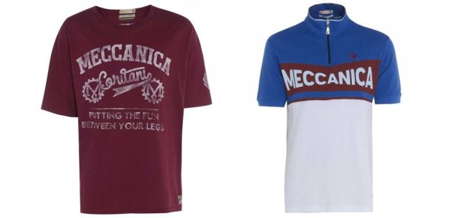 For those days when you want to take it a bit easier, try Meccanica casual cycle clothing