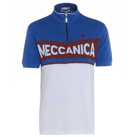 The Meccanica polo shorts harks back to designs from the '50s and '60s