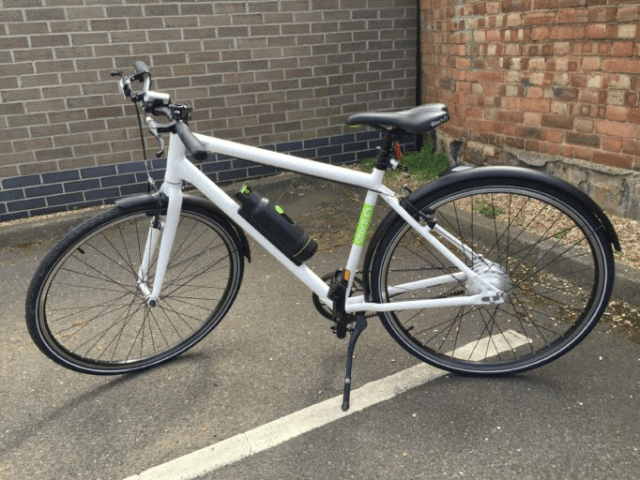 The G Tech Electric Bike provides a little extra boost for those that need it
