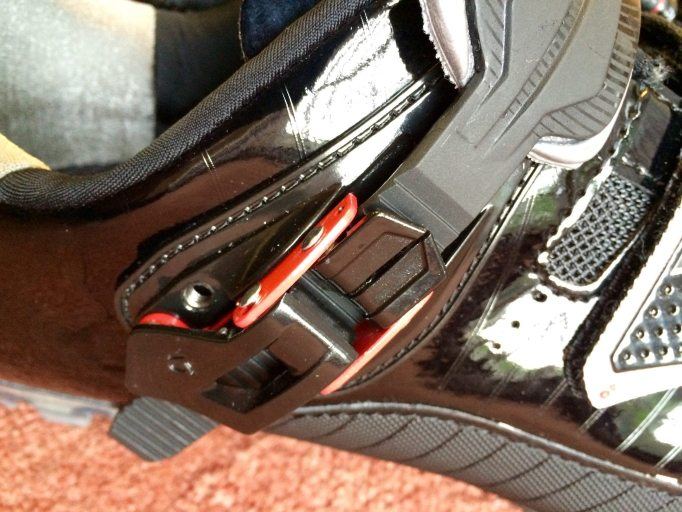 The Micro-Fitt II strap uses a split top lever