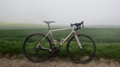 The Niner RLT 9 Steel, looking moody on the South Downs