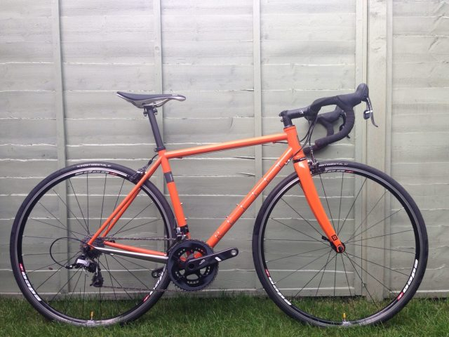 The Reilly RS-7, custom built, stainless steel and very orange