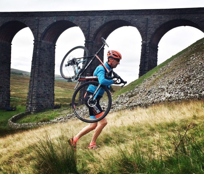 You'll want a light bike for the Three Peaks as you'll be carrying it up some crazy slopes and the weather won't be this nice!