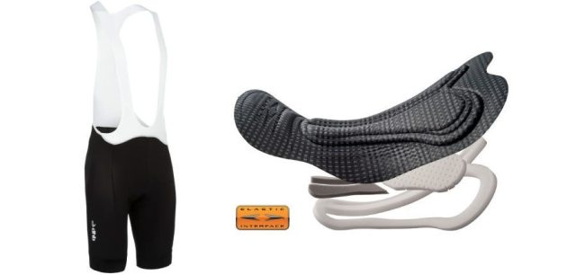The Aeron Speed shorts use a CyTech Comp HP chamois day long comfort