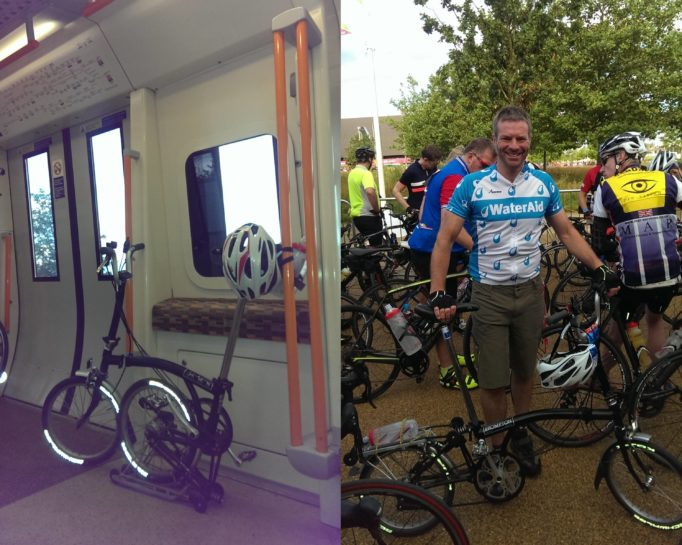 Tackle the Prudential RideLondon on a Brommy and you will get looks!