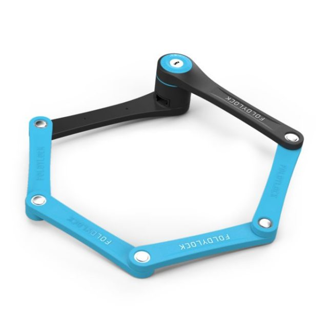 The Foldylock Compact is a novel approach to locking your bike